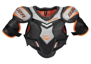 Hockey protective Gear - Bauer Supreme One 4 Senior Hockey Shoulder Pads