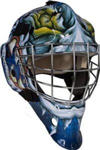 Bauer-NME-3-DaveArt-Design-Hockey-Goalie-Mask-JUNIOR